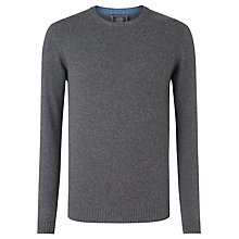 Buy John Lewis Italian Merino Cashmere Crew Neck Jumper Online at johnlewis.com