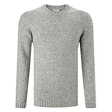 Buy John Lewis Frosty Cable Yoke Crew Neck Jumper Online at johnlewis.com