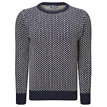 Buy John Lewis Made in Italy Birdseye Wool Jumper Online at johnlewis.com