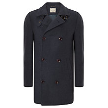 Buy John Lewis Buckle Neck Jacket, Airforce Blue Online at johnlewis.com