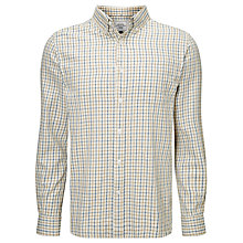 Buy John Lewis Window Check Cotton Twill Shirt Online at johnlewis.com