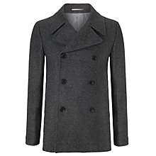Buy JOHN LEWIS & Co. Mallalieu Wool Pea Coat Online at johnlewis.com