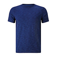 Buy JOHN LEWIS & Co. Slub Cotton Crewneck T-Shirt, Indigo Online at johnlewis.com