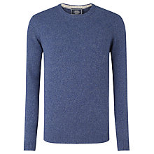 Buy John Lewis Made in Italy Merino Cashmere Crew Neck Jumper, Cobalt Blue Online at johnlewis.com