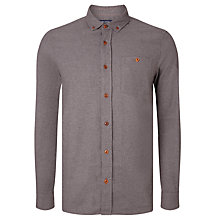 Buy JOHN LEWIS & Co. Recycled Cotton Flannel Worker Shirt Online at johnlewis.com
