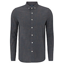 Buy JOHN LEWIS & Co. Long Sleeve Slub Cross-Weave Shirt Online at johnlewis.com
