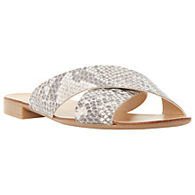 Buy Dune Jarin Crossover Sandals Online at johnlewis.com