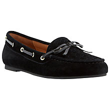 Buy Dune Glorius Suede Boat Shoes Online at johnlewis.com