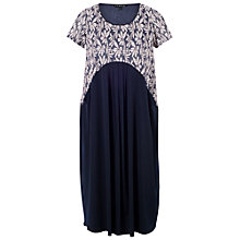 Buy Chesca Daisy Jersey Dress, Blue Online at johnlewis.com