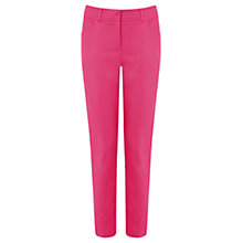 Buy Oasis Compact Cotton Trousers Online at johnlewis.com