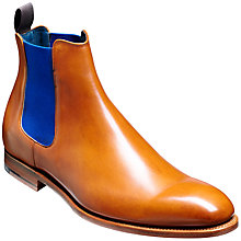 Buy Barker Hopper Leather Chelsea Boots, Tan Online at johnlewis.com