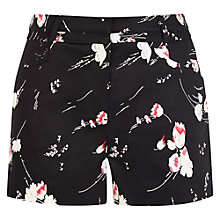Buy Oasis Scatter Lotus Print Short, Multi Online at johnlewis.com