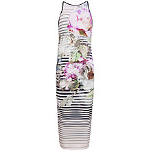 Buy Ted Baker Pure Peony Midi Dress, Multi Online at johnlewis.com