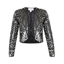 Buy Miss Selfridge Petite Loretta Embellished Jacket, Assorted Online at johnlewis.com