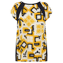 Buy Warehouse Aztec Print Top, Multi Online at johnlewis.com