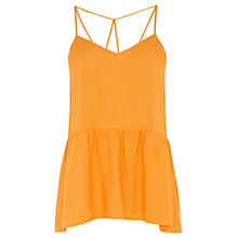 Buy Warehouse Crepe String Back Camisole Online at johnlewis.com