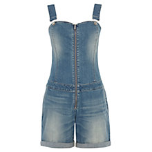 Buy Karen Millen Denim Playsuit, Blue Online at johnlewis.com