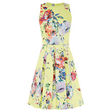Buy Warehouse Floral Prom Dress, Multi Online at johnlewis.com