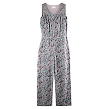 Buy East Arya Print Jumpsuit, Smoke Online at johnlewis.com