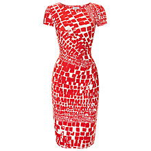 Buy Phase Eight Alyssa Dress, Red / White Online at johnlewis.com