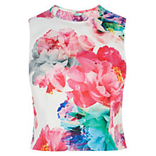 Buy Coast Bloom Print Top, Multi Online at johnlewis.com