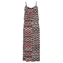 Buy Warehouse Aztec Print Midi Dress, Multi Online at johnlewis.com