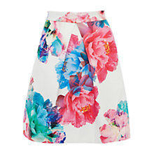 Buy Coast Bloom Print Skirt, Multi Online at johnlewis.com