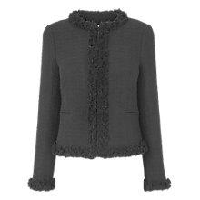 Buy L.K. Bennett Tilma Tweed Jacket, Brown Online at johnlewis.com