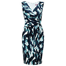 Buy Phase Eight Paulina Abstract Dress, Blue/White Online at johnlewis.com