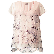 Buy Phase Eight Silk Florentina Blouse, Multi Online at johnlewis.com