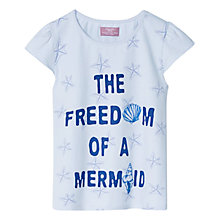 Buy Mango Kids Girls' Mermaid Starfish T-Shirt Online at johnlewis.com