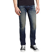Buy Levi's 511 Slim Selvedge Jeans, Binchotan Online at johnlewis.com