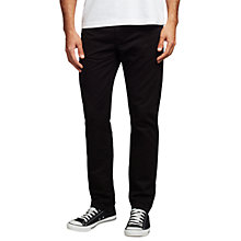 Buy Levi's California Slim Straight Jeans Trousers, Black Online at johnlewis.com