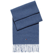 Buy Tommy Hilfiger Holiday Ted Scarf, Crown Blue Online at johnlewis.com