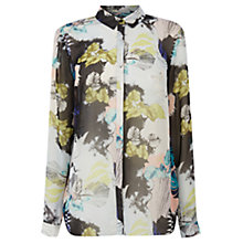 Buy Warehouse Shell Print Blouse, Multi Online at johnlewis.com