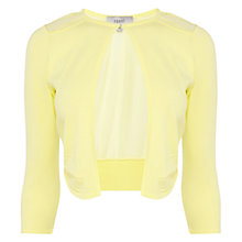 Buy Coast Mab Round Neck Cover Up, Yellow Online at johnlewis.com