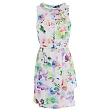Buy Oasis Photo Real Paloma Dress, Multi Online at johnlewis.com