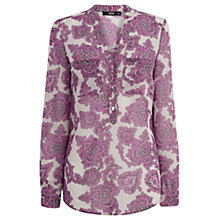 Buy Oasis Paisley Shirt, Multi Online at johnlewis.com