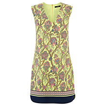 Buy Oasis Paisley Print Dress, Multi Yellow Online at johnlewis.com