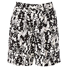 Buy Oasis Shadow Floral Shorts, Multi Online at johnlewis.com