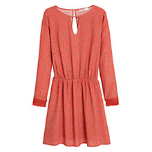 Buy Mango Paisley Print Dress, Sweet Melon Online at johnlewis.com