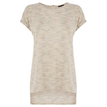 Buy Warehouse Textured Space Dye Top, Light Pink Online at johnlewis.com