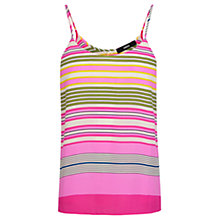 Buy Oasis Stripe Print Cami, Multi Online at johnlewis.com