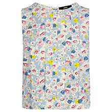 Buy Oasis Ditsy Floral Shell Top, Multi Online at johnlewis.com
