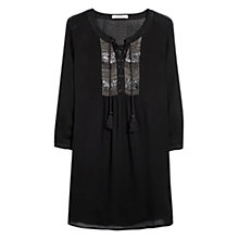 Buy Mango Bead Tunic Dress Online at johnlewis.com