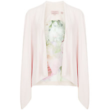 Buy Ted Baker Pure Peony Wrap Jacket, Reverie Pink Online at johnlewis.com