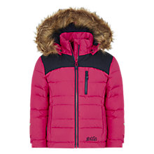 Buy Skogstad Grazjoen Down Jacket, Pink Online at johnlewis.com