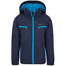 Buy Skogstad Boys' 2-Layer Technical Jacket, Navy Online at johnlewis.com