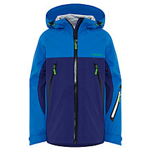 Buy Skogstad Boys' 3 Layer Technical Jacket, Ultra Blue Online at johnlewis.com