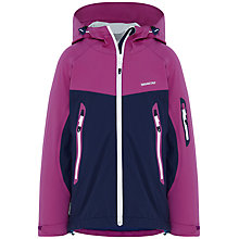 Buy Skogstad 2.5-Layer Technical Jacket, Navy/Purple Online at johnlewis.com